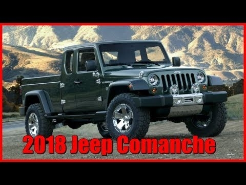 New 2018 Jeep Comanche Exterior