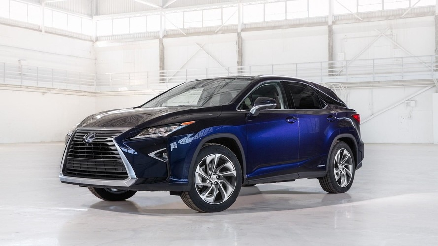 New 2018 Lexus Rx 450H Interior