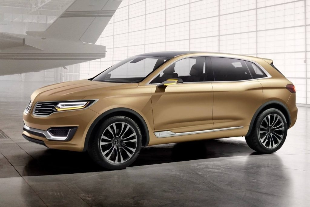 The 2018 Lincoln Mkx At Beijing Motor Show Spy Shoot