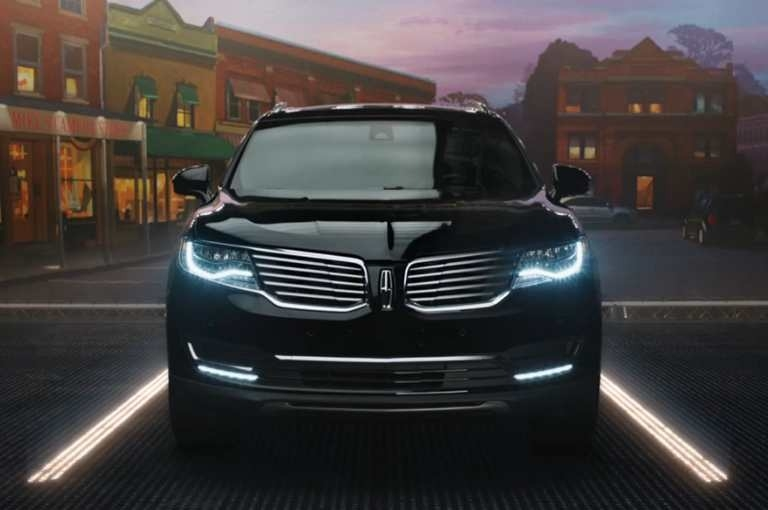 The 2018 Lincoln Mkx Exterior