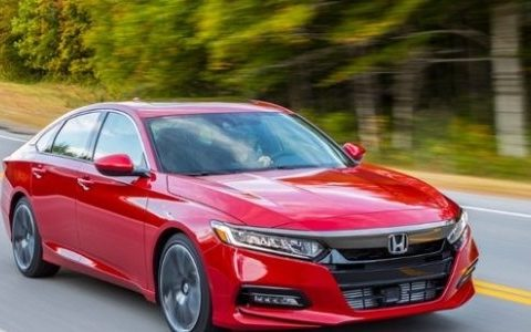 The 2019 Accord Coupe Exterior