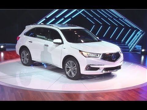 2019 Acura Mdx Rumors First Drive