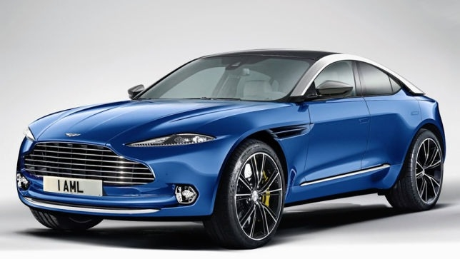 New 2019 Aston Martin Dbx New Release