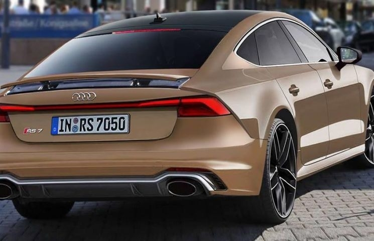 The 2019 Audi Rs7 Exterior