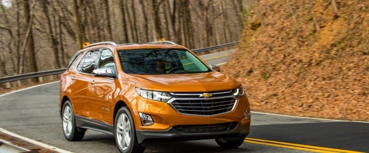 The 2019 Chevy Equinox Concept