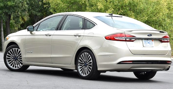 New 2019 Ford Fusion Energi New Interior