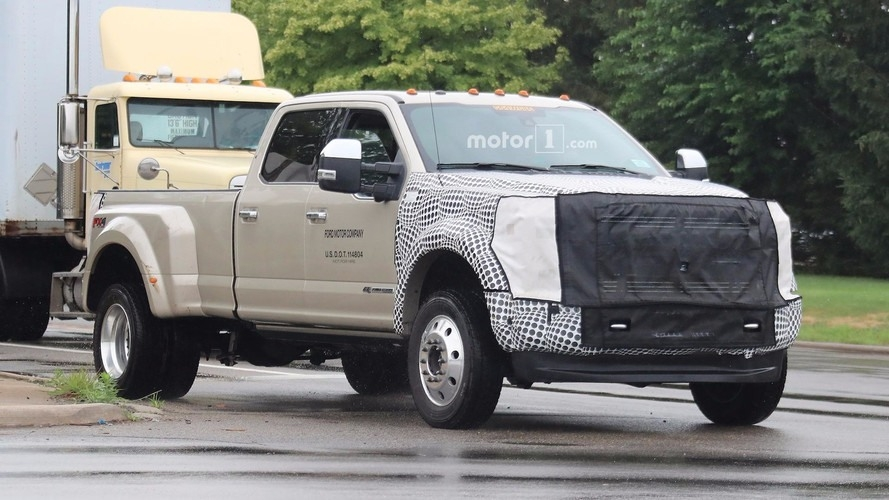 The 2019 Ford Super Duty Exterior