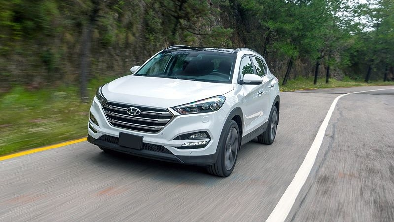 2019 Hyundai Tucson Fuel Cell Interior