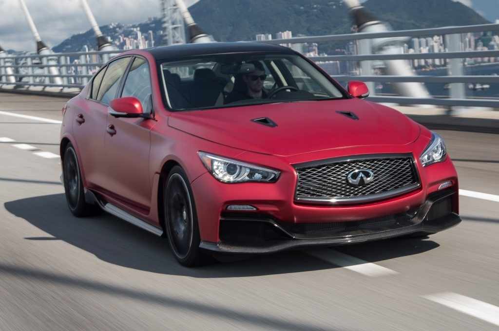 The 2019 Infiniti Q50 Coupe Eau Rouge New Interior