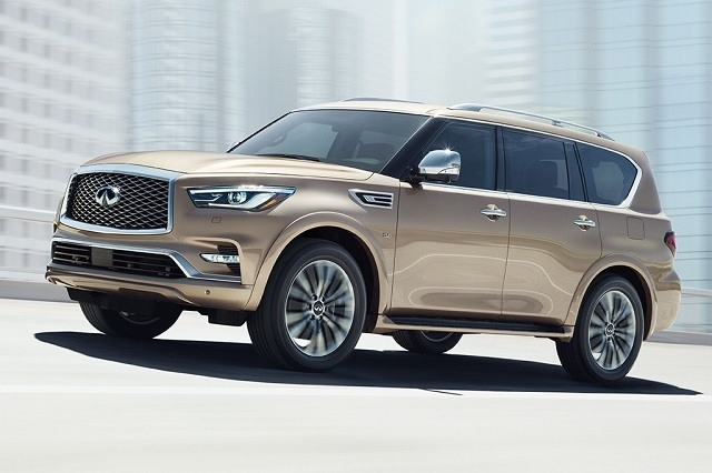 New 2019 Infiniti QX80 First Drive