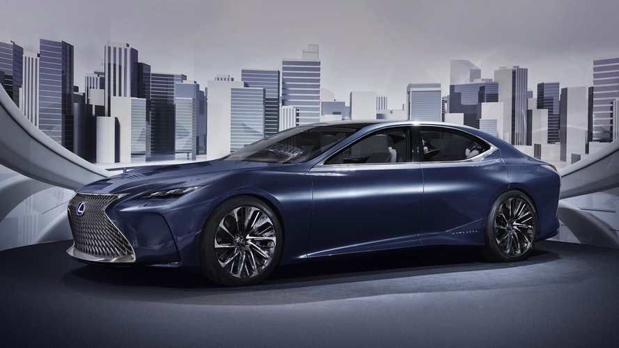 New 2019 Lexus Ls Concept Spy Shoot