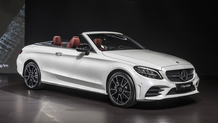 The 2019 Mercedes C-class Picture