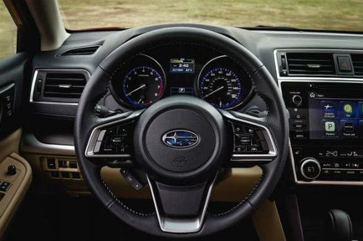 The 2019 Subaru Liberty New Interior