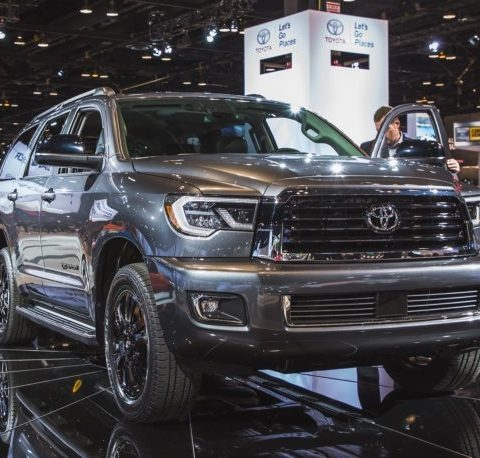 The 2019 Toyota Sequoia New Release