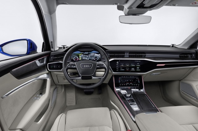 The Audi A6 2019 Picture