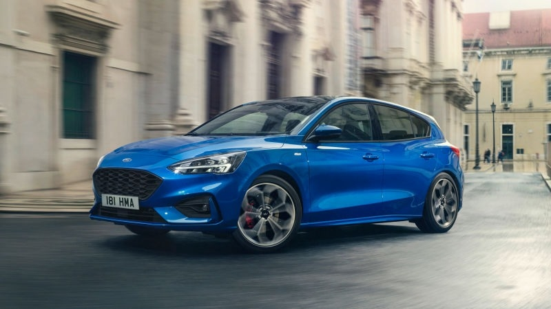 The Ford Focus 2019 Spy Shoot