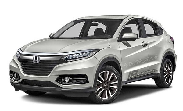 The Honda Hrv 2019 Picture