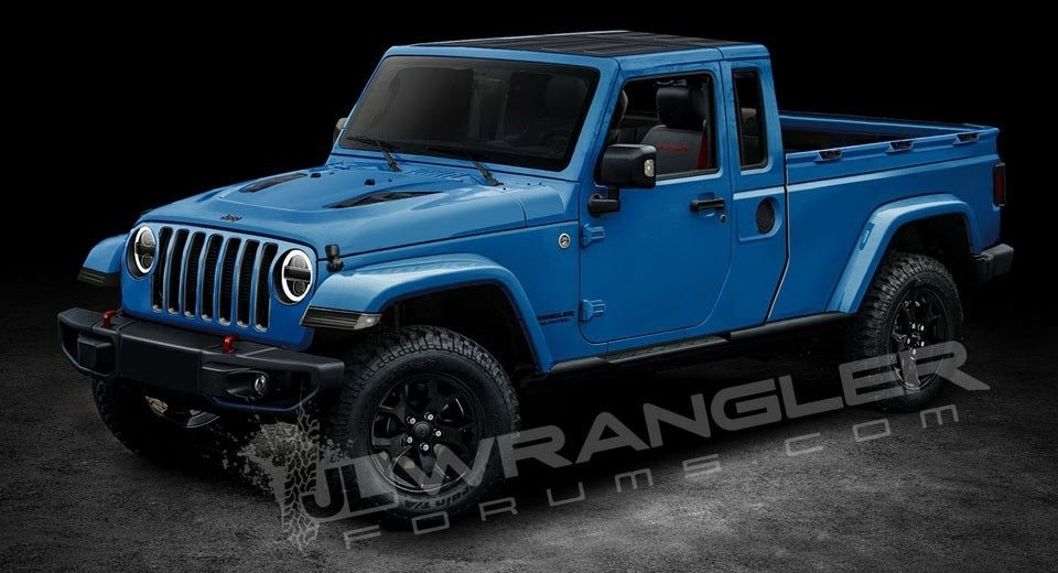 New Jeep Pickup 2019 Spy Shoot