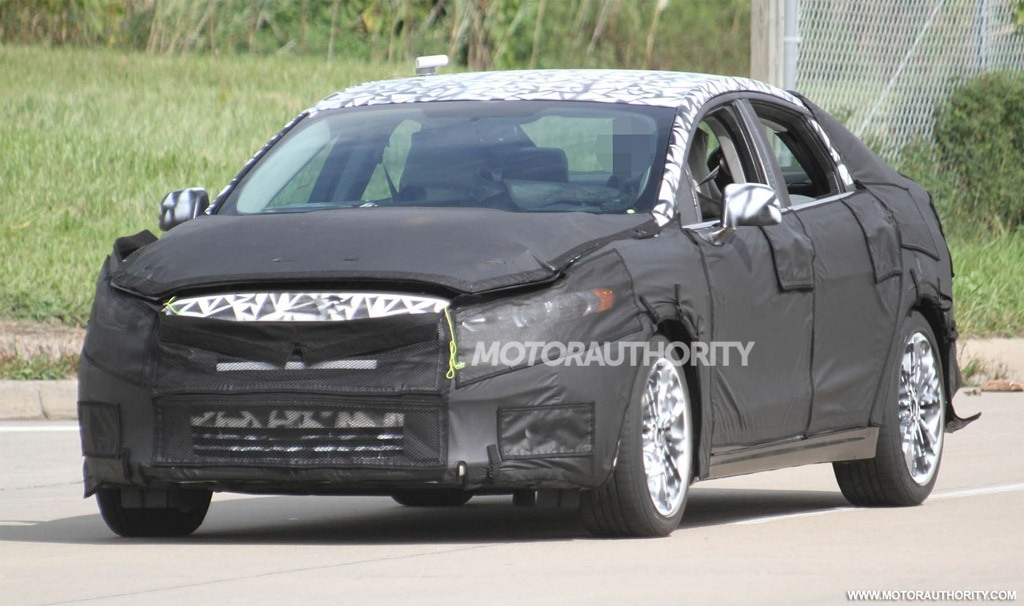 The Spy Shots 2018 Ford Fusion Picture