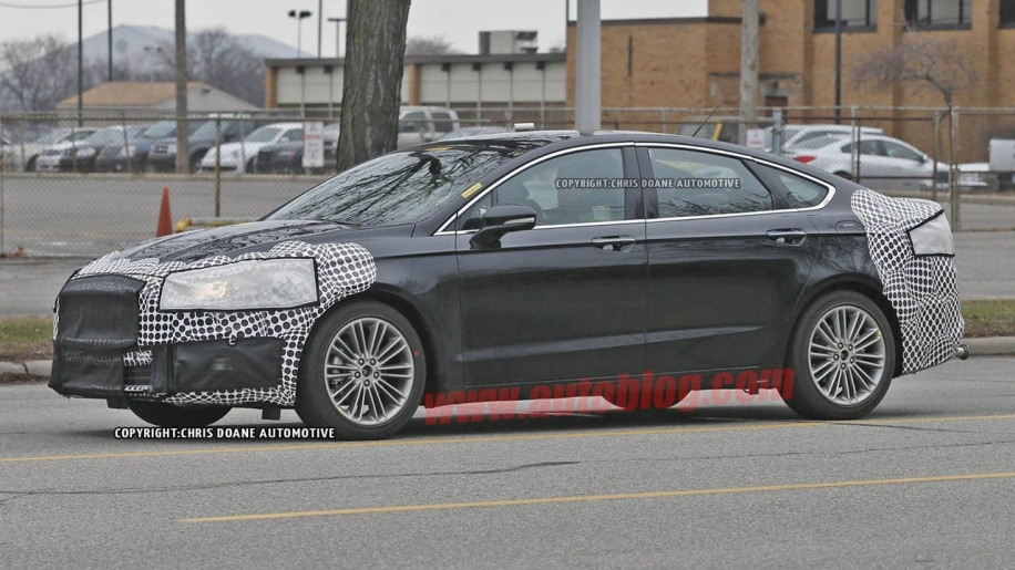 Spy Shots 2019 Ford Fusion Concept