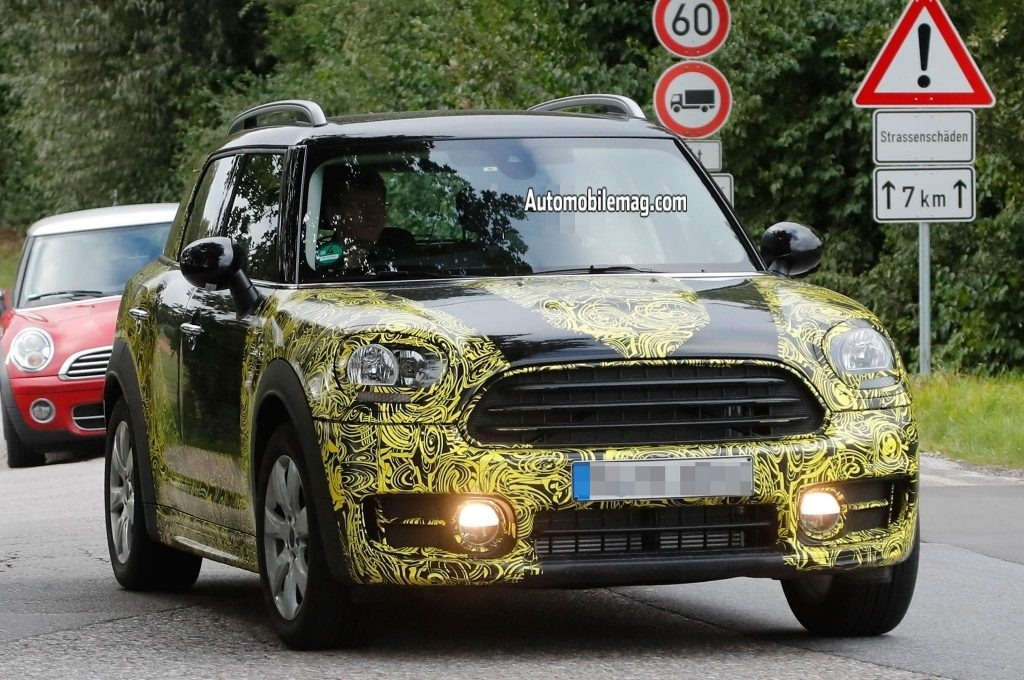 New Spy Shots 2019 Mini Countryman New Interior