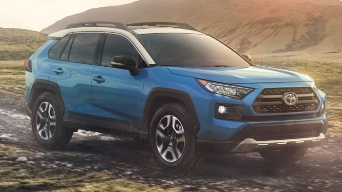 Toyota Rav4 2019 New Interior