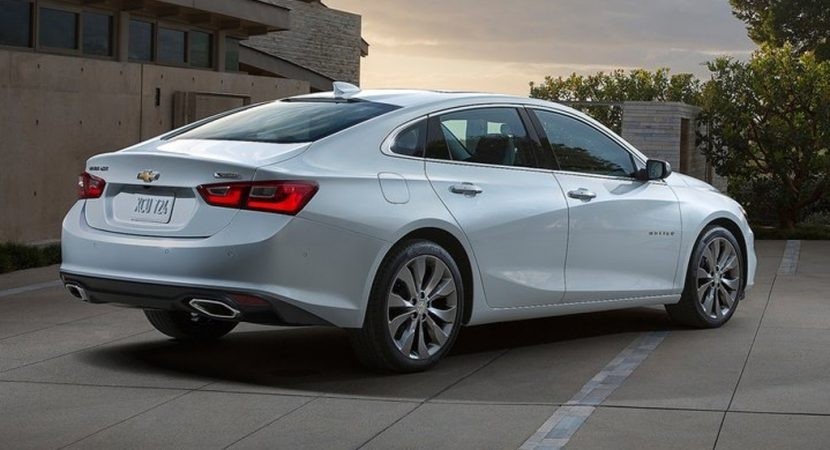 The Chevy Malibu Premiere Ltz 2019 Picture