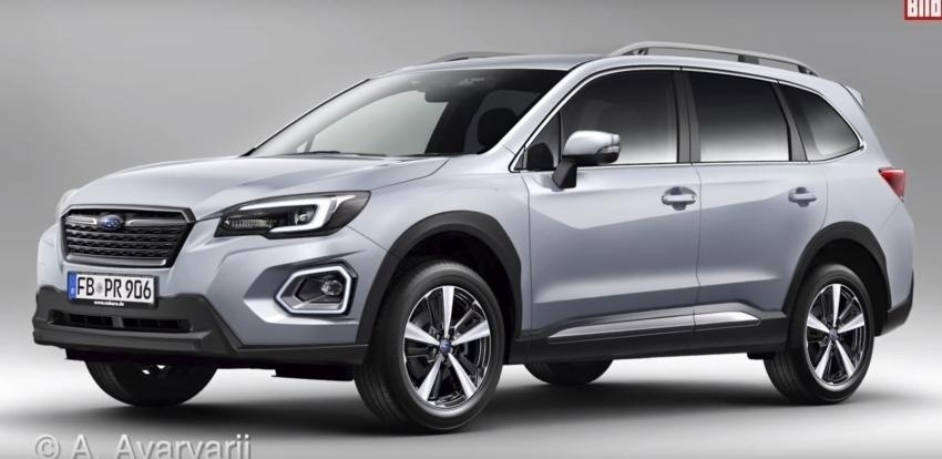 New Forester Subaru 2019 First Drive