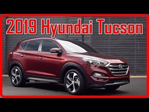 New Hyundai 2019 Tucson Interior