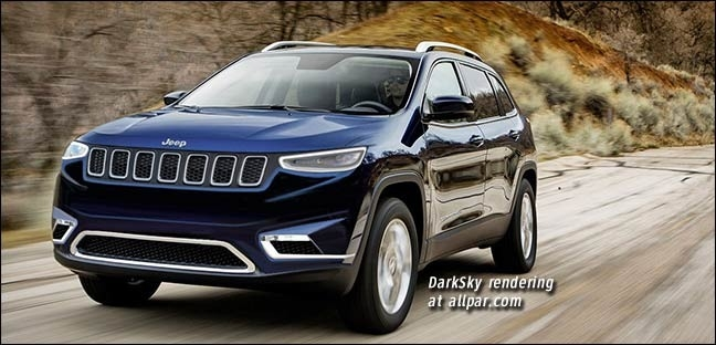 The Jeep Cherokee Sport 2019 Concept