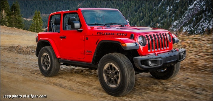 The Jeep Wrangler 2019 Review