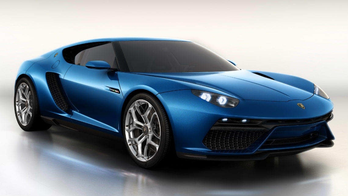 The Lamborghini Asterion Concept New Interior