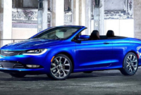 The 2018 Chrysler 200 Convertible Specs and Review