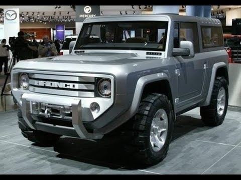 2018 Ford Bronco Overview