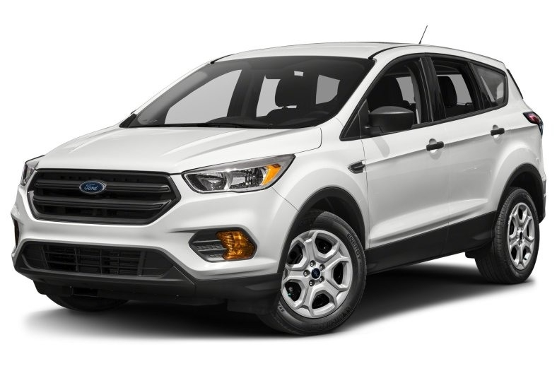 2018 Ford Escape New Interior