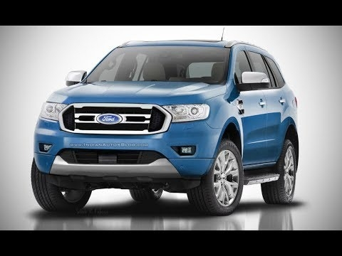 The 2018 Ford Everest Interior