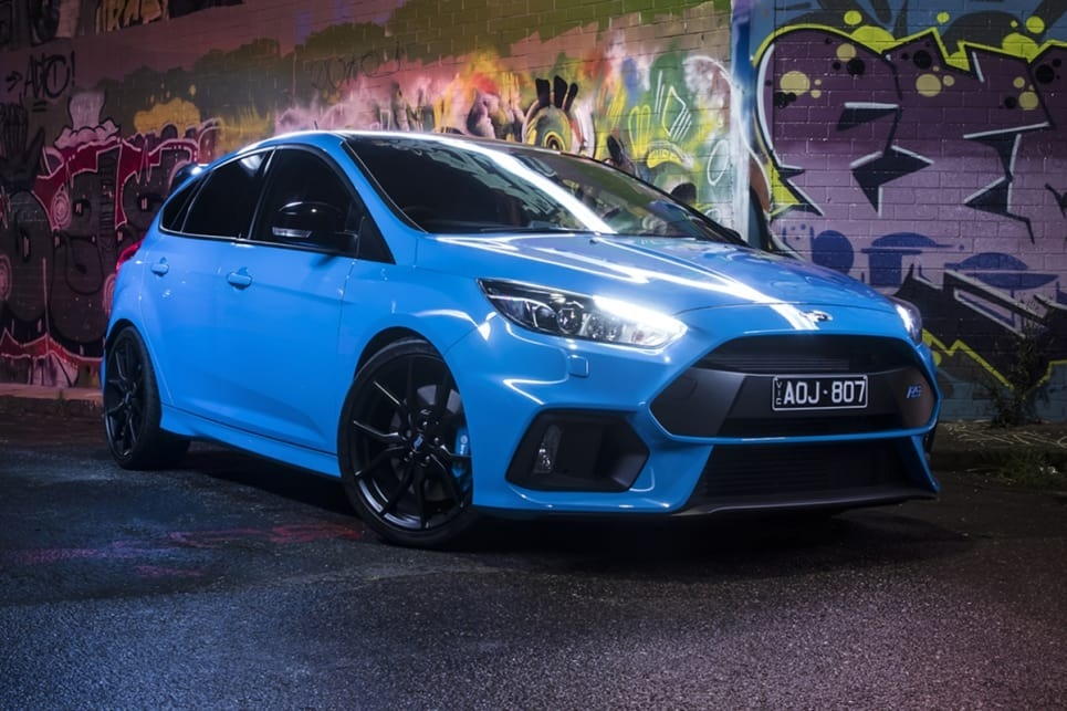 The 2018 Ford Focus Rs Spy Shoot