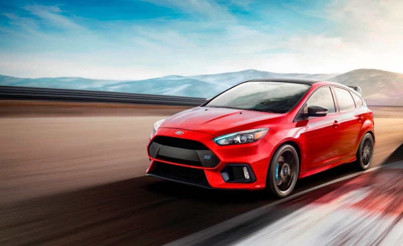 2018 Ford Focus Rs Concept