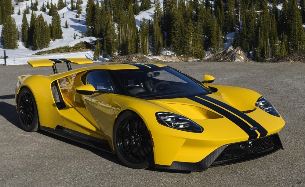 New 2018 Ford Gt Supercar Concept