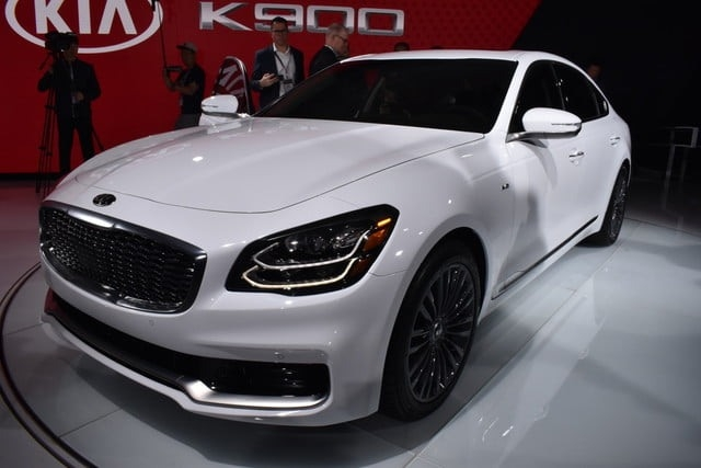 Best 2018 Kia K900 New Release