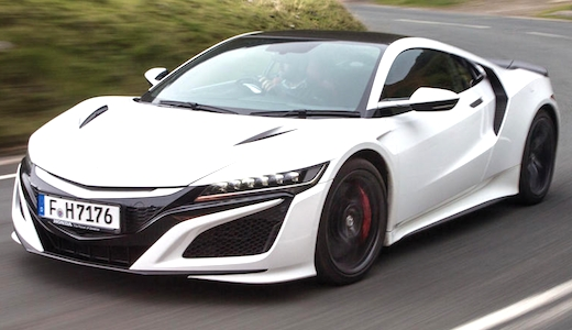 2019 Acura Nsx Type R New Interior