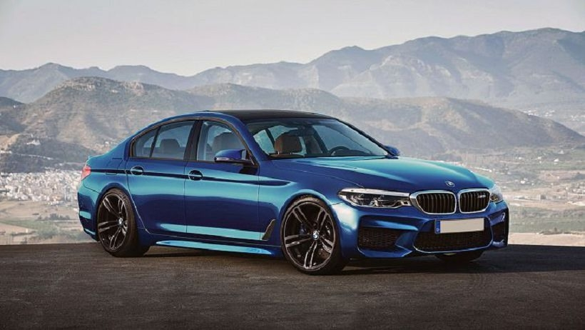 2019 BMW 550I Picture