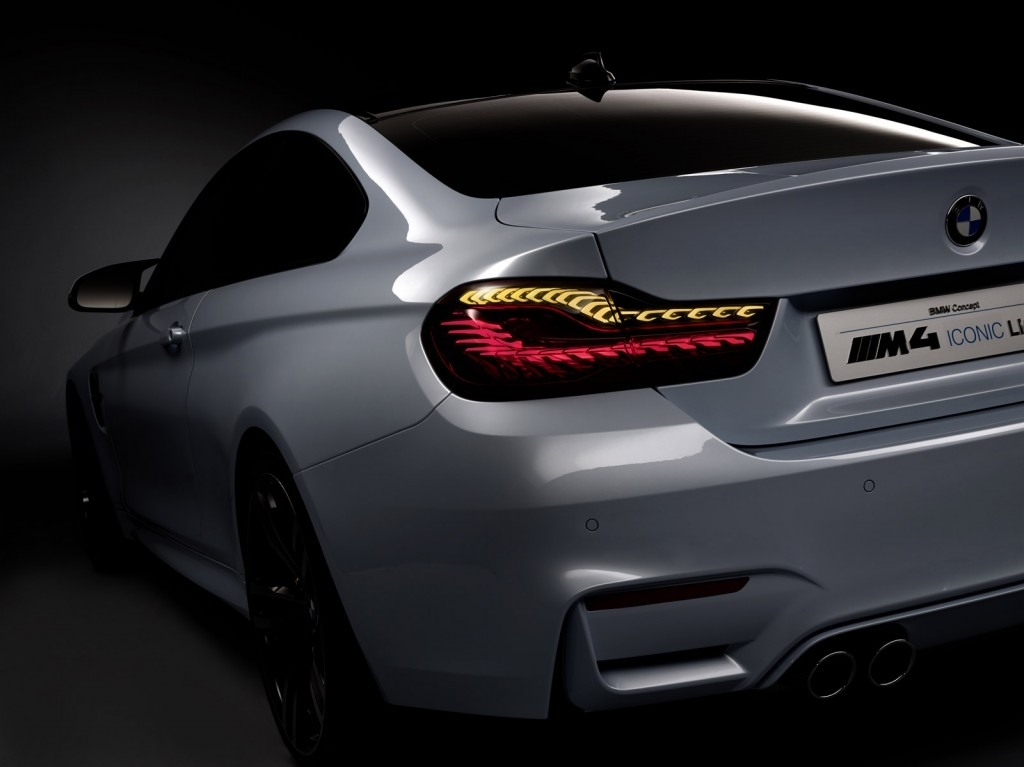 The 2019 BMW M4 Iconic Lights Concept