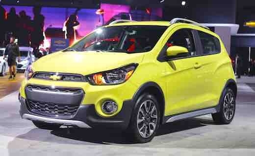 2019 Chevy Spark First Drive