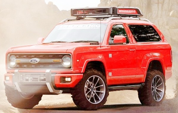 The 2019 Ford Bronco Concept