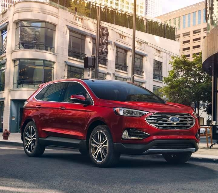 The 2019 Ford Edge Sport Picture