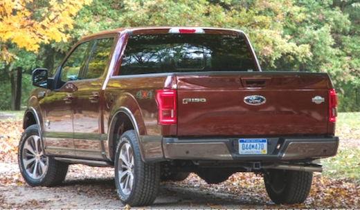 New 2019 Ford F 150 SuperCRew Cab Concept