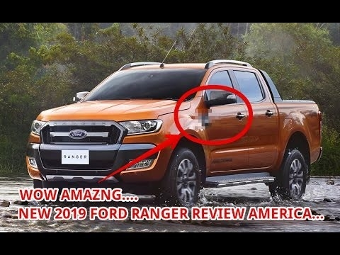 New 2019 Ford Ranger Usa Interior