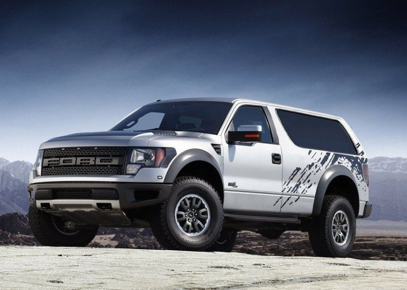 New 2019 Ford Svt Bronco Raptor Picture