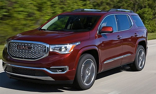 The 2019 GMC Acadia New Release
